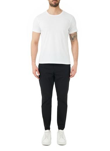 Hugo Boss  Pamuklu Belden Bağlamalı Regular Fit Pantolon Erkek Pantolon 50447740 001 Siyah